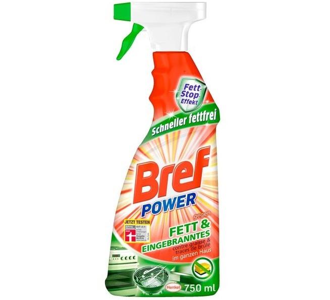 Dung dịch vệ sinh nhà bếp đa năng Bref Power Fett & Eingebranntes
