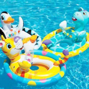 Phao bơi, phụ kiện bể bơi cho bé.
