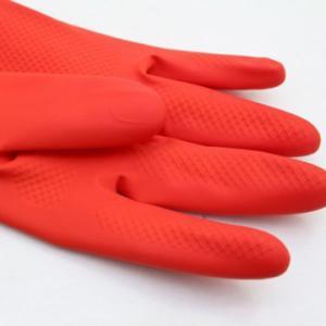 Combo 2 đôi găng tay cao su lót nỉ cho mùa đông không lạnh.