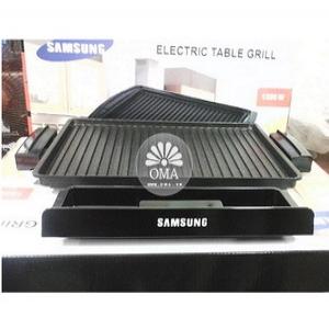 Bếp nướng điện SAMSUNG cao cấp chống dính có rãnh chảy mỡ Hàn Quốc