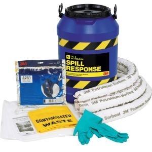 Bộ chống tràn dầu 3M Oil Spill Kit 45L