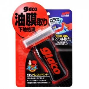 Dụng cụ vệ sinh làm sạch kính xe Glaco Glass compound roll on - soft 99