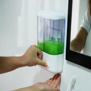 Hộp đựng nước rửa tay, dầu gội, sữa tắm treo tường tiện dụng