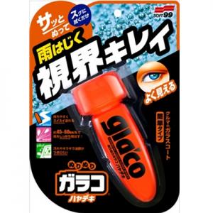 Sáp phủ nano kính khô nhanh Glaco Roll On Instant Dry - Soft 99