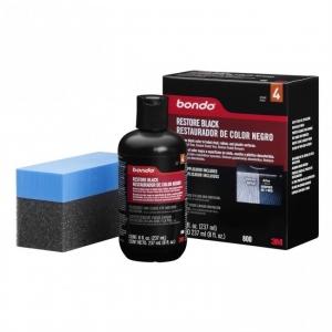Dung dịch phục hội lám mới nhựa đen 3M PN0800 Pondo Restore Black. Dung tích 237ml
