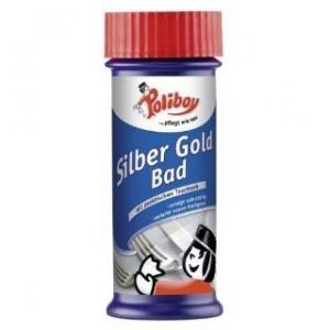 Tẩy trắng làm sạch bạc, vàng và hợp kim, Inox bằng dung dịch Poliboy Silber Gold Bad dung tích 375ml