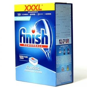 Viên rửa Finish Powerball Classic Everyday Clean XXXL  cho máy rửa BOSCH, Fagor, Brandt, Electrolux, EFF, smeg, beko, AEG, Constructa, indesit, SIEMENS, ZANUSSI vv.