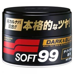 Sáp đánh bóng bảo vệ sơn xe Dark & Black Wax 300g Soft99