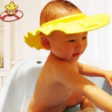 Combo 02 mũ tắm xuất nhật chắn nước vào mắt cho bé gội đầu