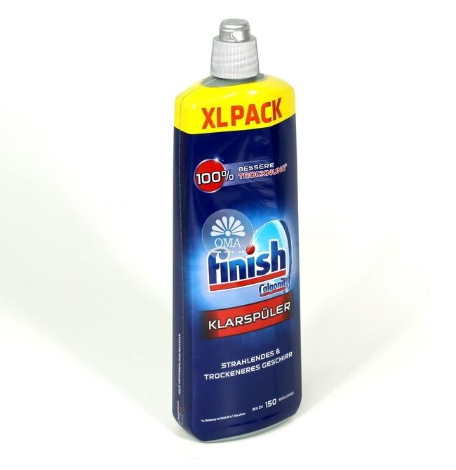 Nước làm bóng Finish cho máy rửa chén, bát Bosch, Beko, Brandt, GAGGENAU, gorenje, GRUNDIG, GL, NEFF, SHARP, SIMENS, Smeg loại 750ml