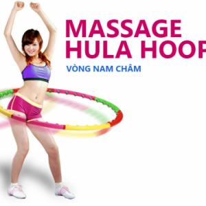 Vòng lắc hoạt tính  Massage giảm eo Diet Cushion Hula - Hoop