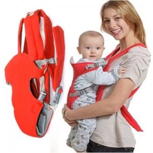Địu em bé 4 tư thế thiết kế tiện dụng cho bé.