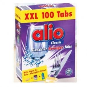 Viên rửa bát Alio loại Classic 1 hộp 100 Viên - hàng nhập khẩu từ Đức