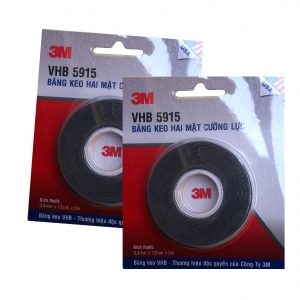 Bộ băng keo 30 miếng VHB 3M 5915 siêu dính cắt sẵn cường lực