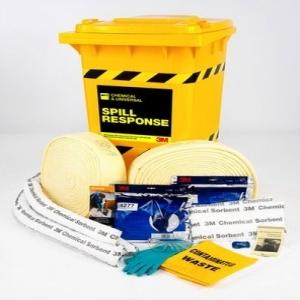 Bộ chống tràn hóa chất 3M™ Chemical Spill Response Kit CSRK-180, 180 Litre Capacity