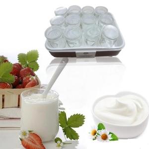 Máy làm sữa chua Chefman 12 cốc thủy tinh độc đáo