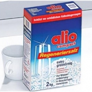 Alio - Muối cho máy rửa Chén, Bát Loại 2kg