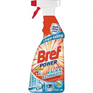 Tẩy cáu cặn Gương, vách kính, bồn rửa vòi chậu inox nhà tắm Bref Power Kalk – Schmutz