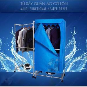 Tủ sấy quần áo PUSAN 2 tầng cao cấp
