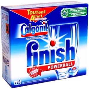 Hộp viên rủa Fisnish, 1 hộp 28 viên dùng cho máy rửa bát